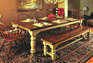 the Stocton Farm Table